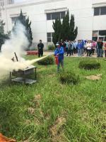 昆山博立保安服务公司消防安全常抓不懈!